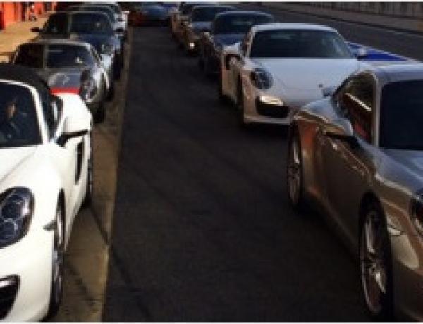 Track day Porsche en Montmeló